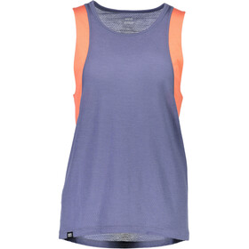 Mons Royale W's Kasey Relaxed Mesh Tank Coral/Stone